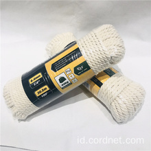 100% katun macrame cord rope twisted rope