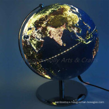 Decorative Lighted World Globes for Adults