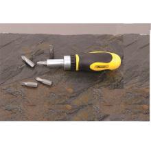 5 em 1 mão precisão ferramentas CRV aço grossos catraca chave de fenda