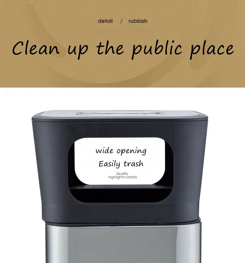 Large Capacity Waste Bin