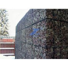 2X1X1m 8X10cm Диафрагма Шестиугольная Коробка gabion стены