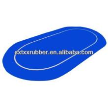 Seguro palo de espuma de goma tapa de mesa de color azul, seguro stick anti deslizamiento de póquer de fieltro superior