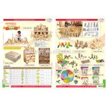 Venta al por mayor-niños, juguetes de los cabritos, bloque, juguete popular y juguetes de madera de la educación del diseño colorido fábrica, juguetes de madera al por mayor