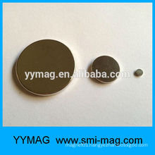 Button magnet Europe standard thin neodymium magnet