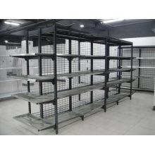 Australia Style Supermarket Grocery Zinc Wire Gondola Shelf