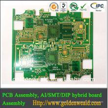 Sustrato fr4 placa de circuito impreso multicapa 4 capas pcb cfl pcb