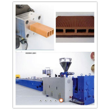 PVC PP PE Holz-Kunststoff-Profil, das Maschine herstellt
