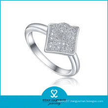 Wholesale Stylish Rhodium Wedding Ring