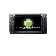 HOT!car dvd with mirror link/DVR/TPMS/OBD2 for 6.2 inch full touch screen 4.4 Android system VICTORIA