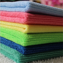 Warp Knitting Microfiber Kitchen Cleaning Towel