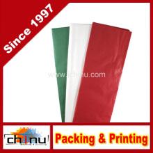 Tissue Paper - Red, Green & White (510049)