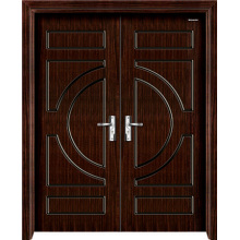 Double Steel Wooden Door for Office Room, Meeting Room