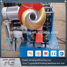 Manufacturer of Glazed Tile round pipe pipe roll forming machine for rain spout
