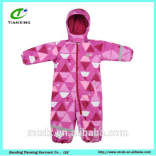 colorful children pullover snow ski wear