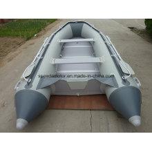 Alta velocidade PVC material inflável barco desportivo