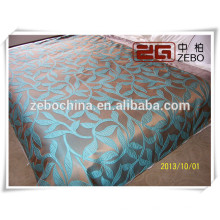 100% Polyester High Grade Jacquard Fabric Decoration Used Hotel Bedspread