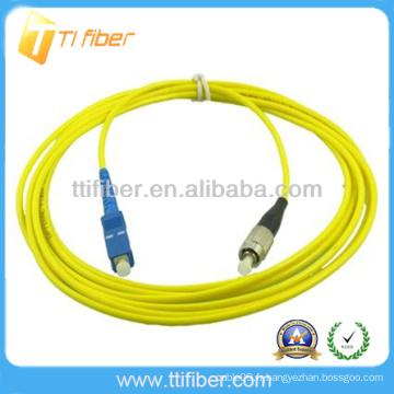 SC / UPC-FC / UPC SM SX Cordon de connexion à fibre optique (cavalier à fibres)