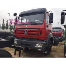 Châssis cargo Beiben rouge 6x4