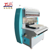 Soft rubber hair clip accessories making machine