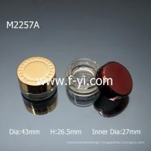 Small Luxury Empty Acrylic Cosmetic Jar