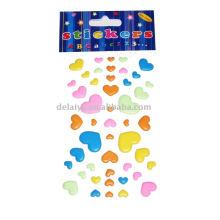 hearted-shape Foam sticker