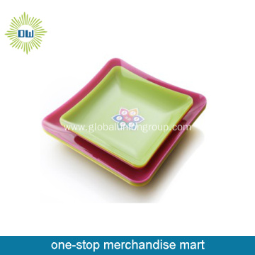 Homeuse Plastic Fruit And Dinner Plate
