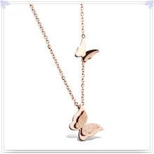 Moda Acessórios Colar de pingente de jóias de aço inoxidável (NK688)