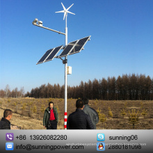 Expor ao sol o gerador doméstico das turbinas eólicas de 300 watts