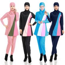 Femmes arabes en gros stock musulman personnalisé Mesdames modestes islamique musulman maillot de bain