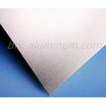 Silver Sandblasted Aluminum Alloy Panel