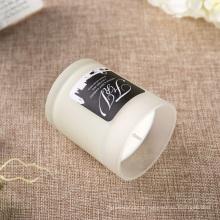 Nova combinação de design grande vela de soja perfumada