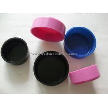 Gorra de goma de silicona de grado alimenticio personalizado