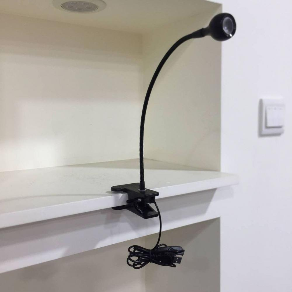 LED chip black desk light