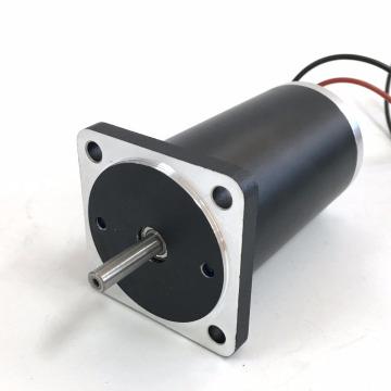 Brush Dc motor 52mm Diameter 24V Rated speed 2800rpm 0.17N.m