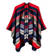 Moda Ligera Cómodo Bastante Largo apropiado Verano bufandas turquesas 100% patrón de Cachemira pashmina chal