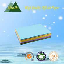 High Quality Virgin Wood Pulp Office Colorful Paper