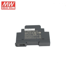 Meanwell HDR-15-5 15W Ultra Slim paso forma carril din suministro de energía 5v