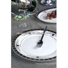 embossed gold new bone china kitchenware