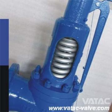 Válvula de seguridad de baja elevación de acero fundido con muelle