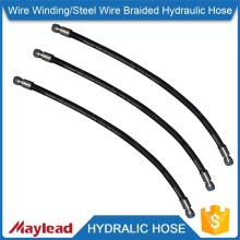 China professional manufacturer steel wire braided hydraulic 50mm soft rubber hoses                                                                                                         Supplier's Choice