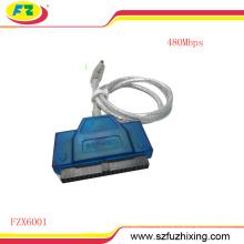 Кабель преобразователя USB2.0 до 3.5 IDE