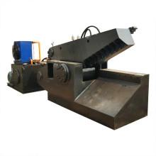 Cisaillement hydraulique de crocodile de tuyau d'acier de tube d'aluminium d'usine
