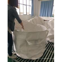 Sac circulaire à jupe supérieure pour l'emballage des accessoires métalliques