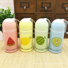 Bouteille d'eau de fruit portable en céramique de bonbons créatifs