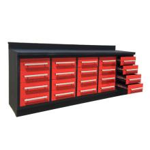 Banco de trabajo del cajón del metal resistente de 10ft