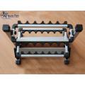 Free Shipping Wholesale Foldable Aluminum Fishing Rod Rack