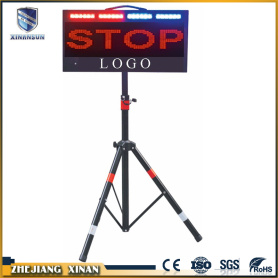 Portable LED traffic signs electronic display screen