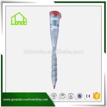 Eco-Friendly Metall Ground Schraube Pole Anchor