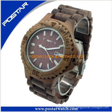100% Eco-Friendly Material Ladies/Men′s Wooden Watch