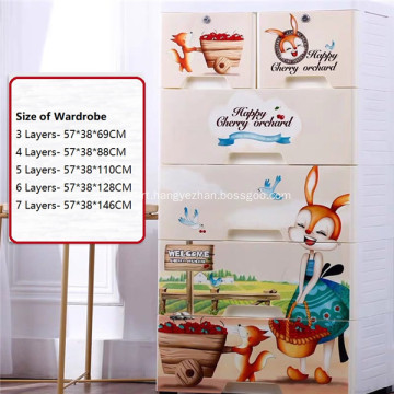 Storage Drawers Baby Cabinet Rolling Container